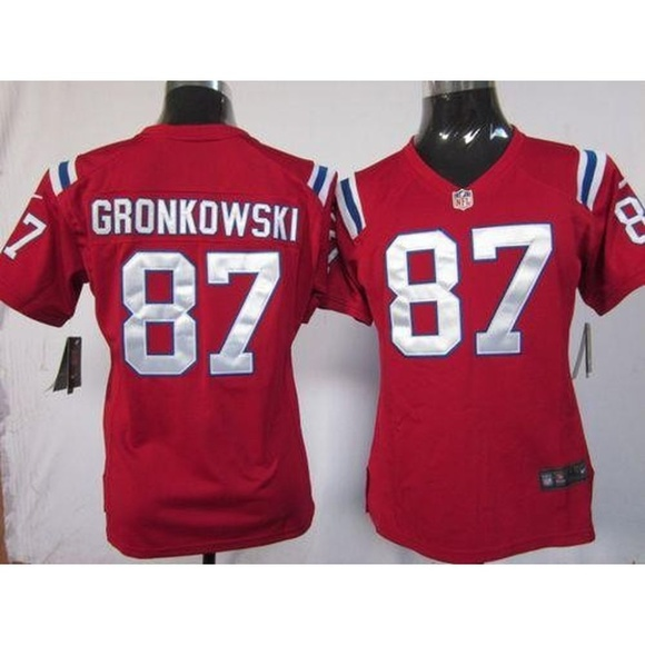 more photos 33af8 a1d6a Women New England Patriots Rob Gronkowski Jersey ( NWT